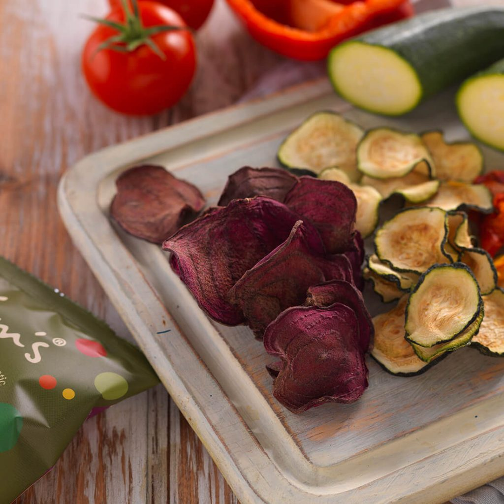 Nim's Vegetable Crisps Homepage