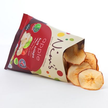 Apple Fruit Crisps - Open Packs