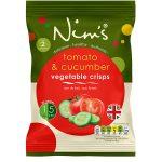 Tomato & Cucumber Vegetable Crisps - Single Pack