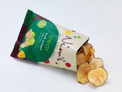 Pear Fruit Crisps Open Packet