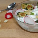 Nim's Raita recipe using Cucumber Crisps