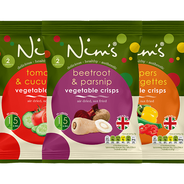 Nim's Fruit and Vegetable Crisps