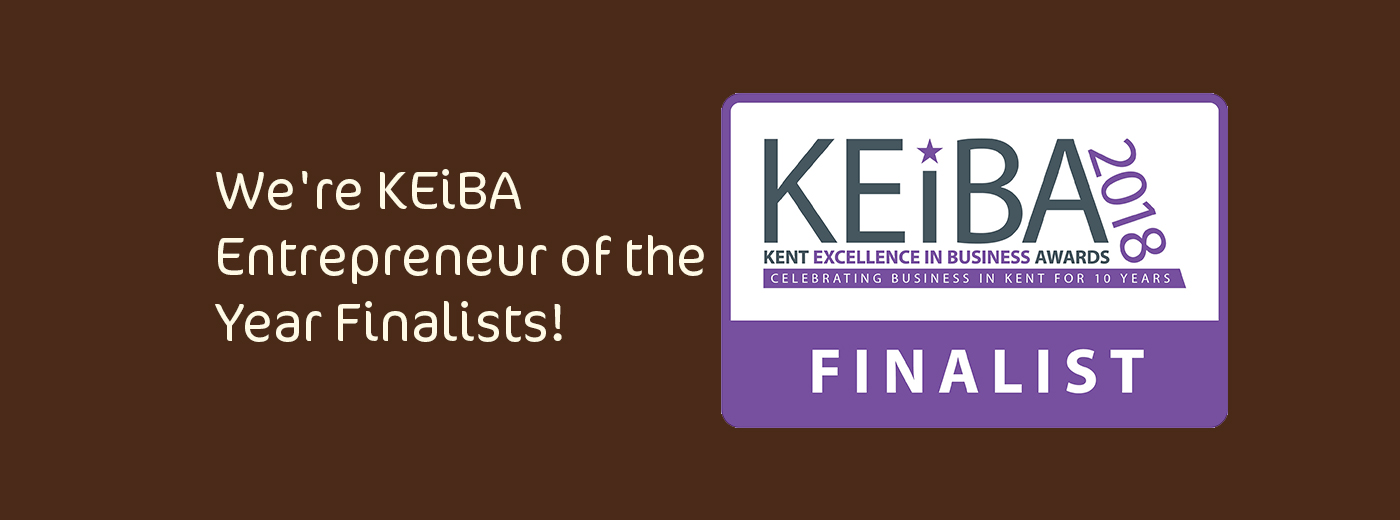 We're KEiBA Entrepreneur of the Year Finalists!