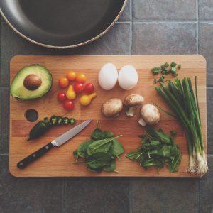 Healthy Food Chopping Board