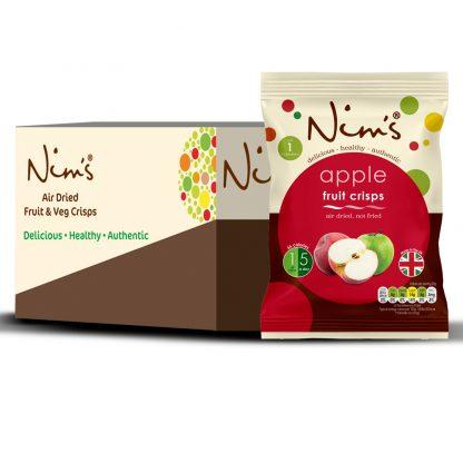 Nim's Apple Crisps Box of 12
