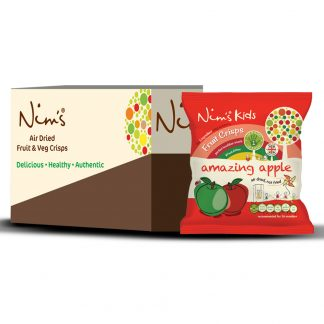 Nim's Kids Amazing Apple Fruit Crisps Box (12 Packets)