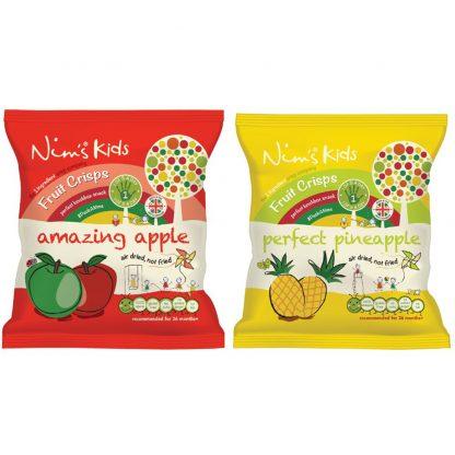 Nim's Kids' Amazing Apple and Perfect Pineapple crisps