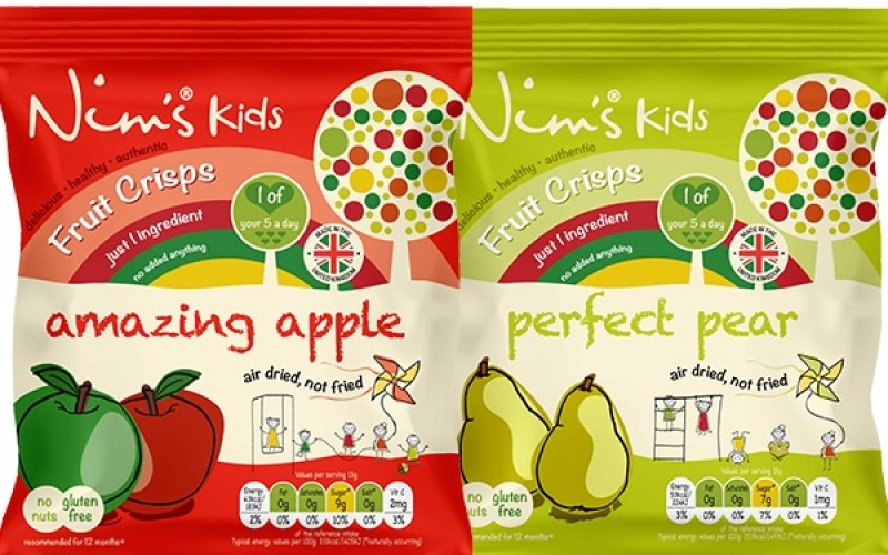 Nim's Kids Fruit Crisps - Healthy Snack For Children