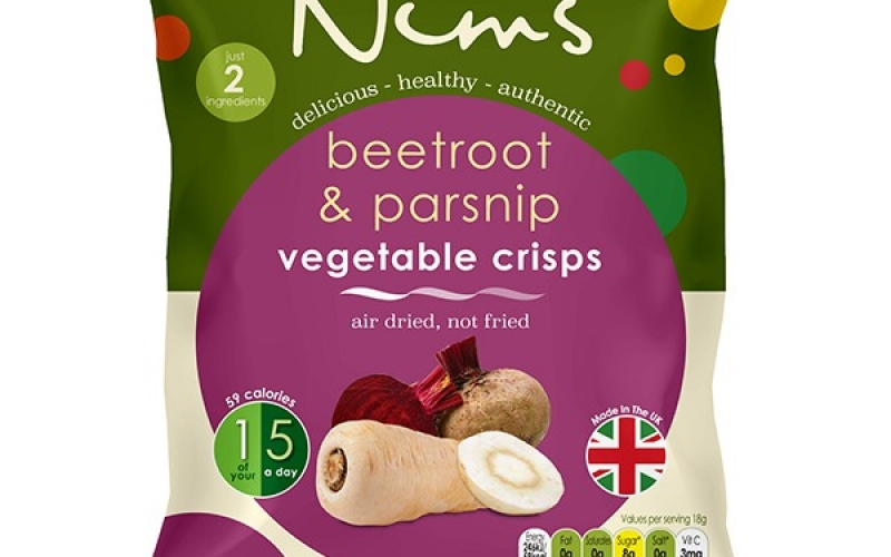 Beetroot & Parsnip Vegetable Crisps - Single Pack