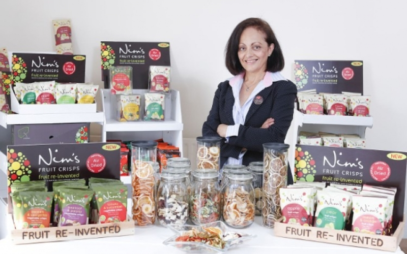 Nim's Fruit & Vegetable Crisps Range