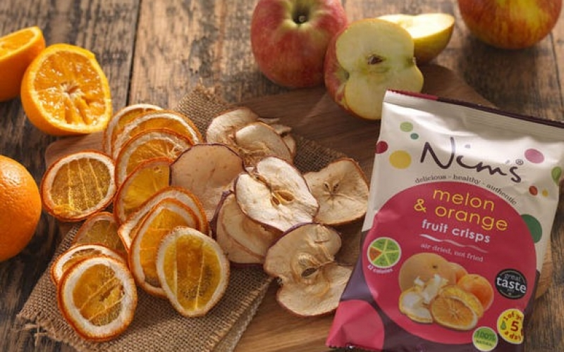 Melon & Orange Fruit Crisps